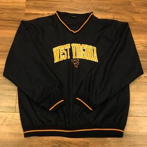 West Virginia University Windbreaker Pullover